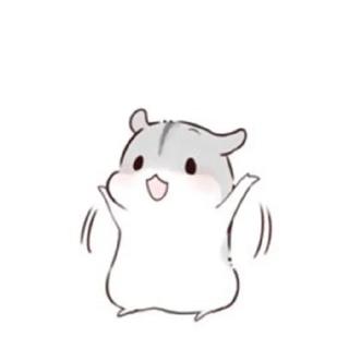 小仓鼠幸福ing - 表情包在线制作