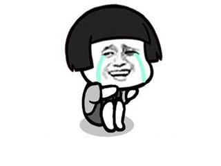 金表情蘑菇头蹲着流泪-馆长制作在线搞笑柯基表情包gif+图片