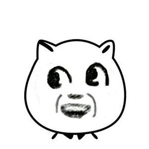 大眼萌猥琐猫 - 表情包在线制作图片