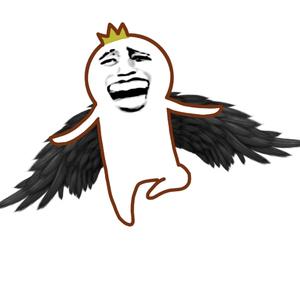金图片罗罗布张开翅膀飞-馆长在线制作微信糗大了表情表情图片