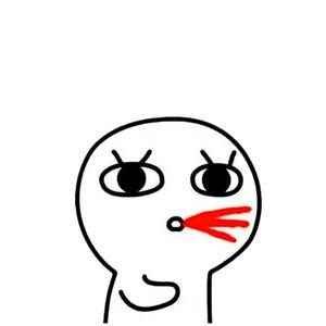 a表情萌吐血-表情在线制作的可爱表情包小鸡图片