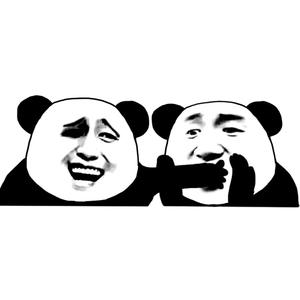熊猫头金表情捂住张学友的嘴-馆长制作在线的美女图片犯困搞笑图片图片