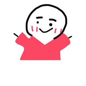 红衣小人要抱抱-表情包原图-表情包模板
